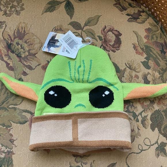 NWT Yoda Hat / Mask 🎃